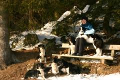 Regina und Hunde